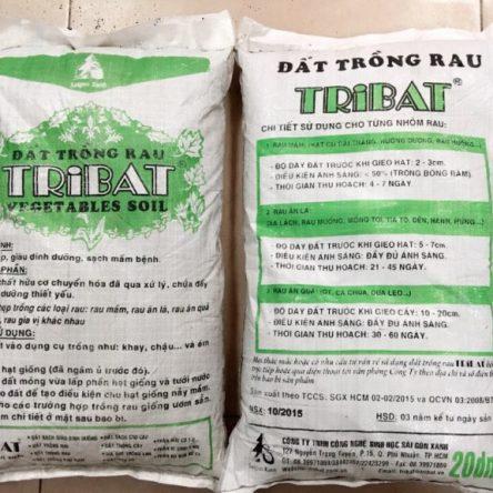 Đất dinh dưỡng Tribat (chuyên dụng trồng rau).